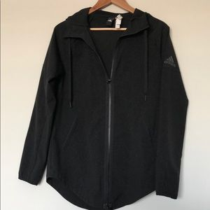 {adidas} Black Lightweight Jacket